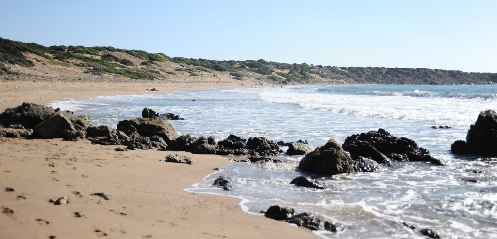 Акамас пляж