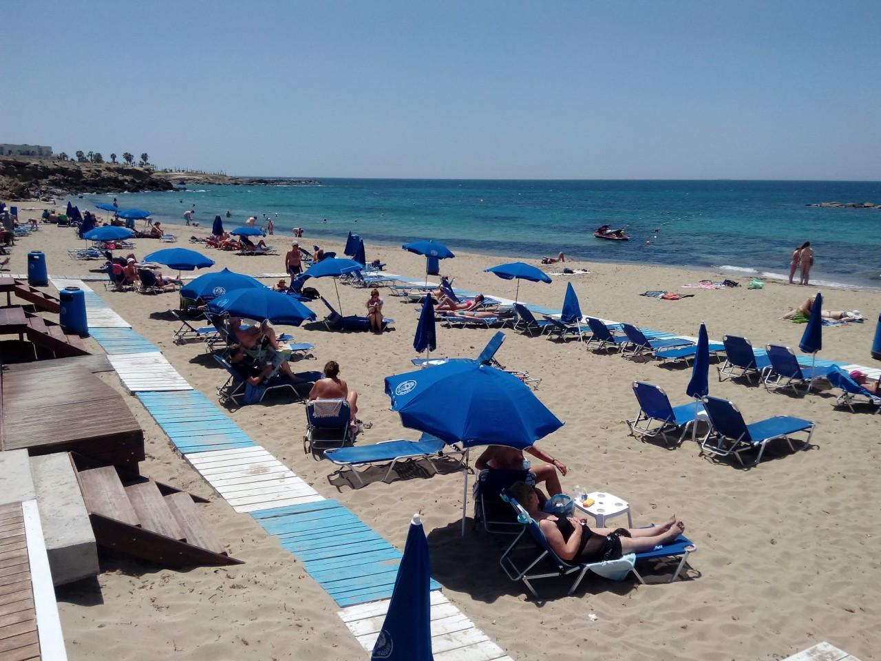 Городской пляж Пафоса