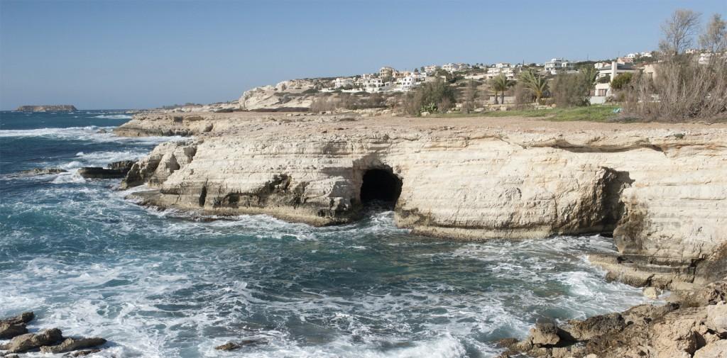 Водные пещеры в районе острова св. Джоржа