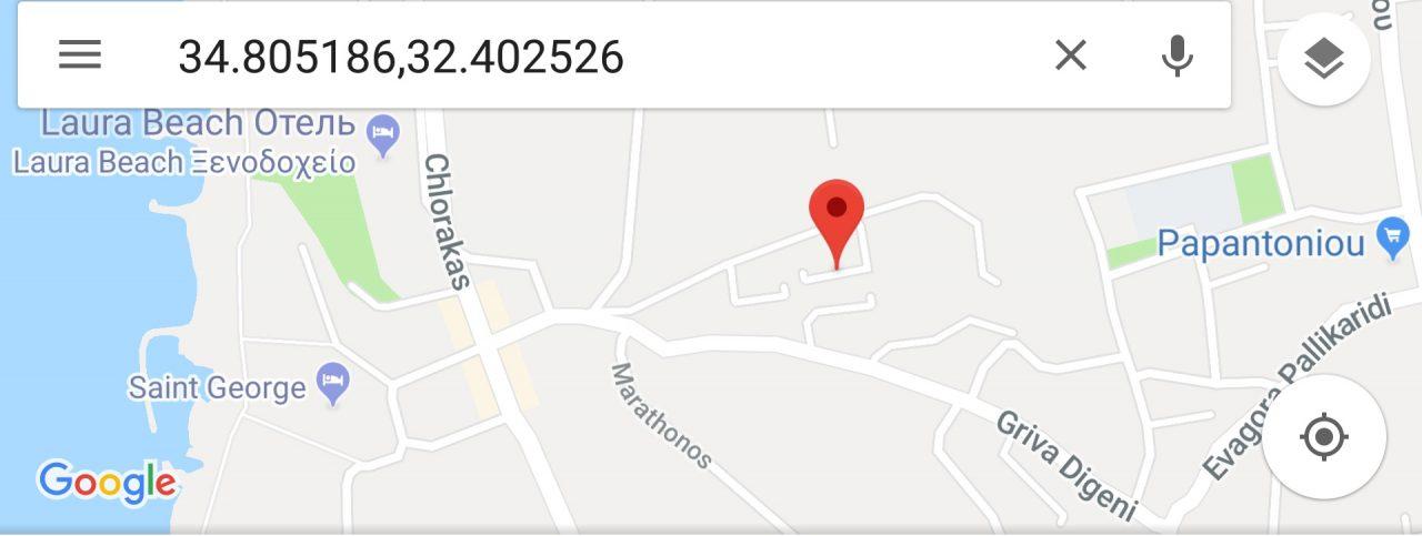 Карта расположения квартиры